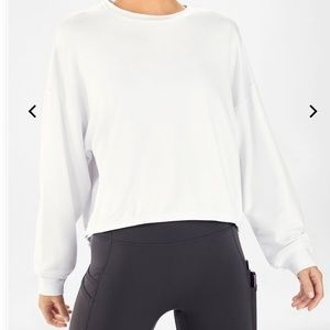 NWT Fabletics The Monica Clinched Pullover